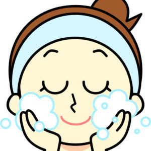 シミなし肌の基本は洗顔