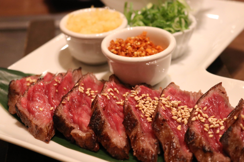 赤身のお肉の料理